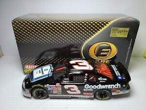 1999 Dale Earnhardt Sr #3 GM Goodwrench Plus/Sign RCCA Elite 1:24 NASCAR MIB