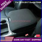Fits 2010-2017 Dodge Ram 1500 2500 3500 Center Console Cover Armrest Pad Black