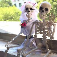 Lifelike Horror Skeleton Bones Halloween Decoration Party Festival Decor Props