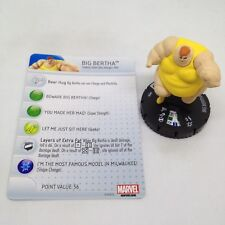 Heroclix Wolverine and the X-Men set Big Bertha #039 Rare fig. w/card! Team Base
