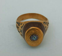 Ancient Military Bronze Roman Ring Authentic Medieval Amazing Museum Artifact
