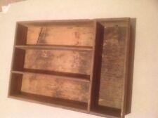 Ancien casier en bois vieux   french antique