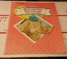 Used Workbook Focus Work and Play Big and Little You and Me