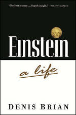 Einstein: A Life Brian, Denis Very Good Book