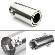50mm Car Rear Exhaust Pipe Tail Throat Muffler Tip Stainless Steel Accessories