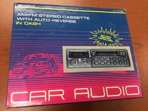 Optimus Stereo AM/FM Stereo Cassette DIN In Dash Radio Player 12-2102 BRAND NEW!