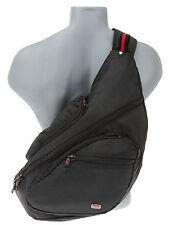 Rucksack Crossover Bodybag New Rebels Onebelt ZBag Eingurt Backpack Bag Schwarz