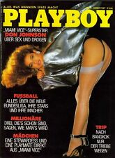 PLAYBOY 1987/03 [März 3/87] * Teri Weigel * Christina Rucci * Don Johnson * TOP