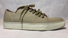 Lanvin Men Sneakers Size 7 NIB Beige