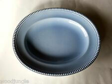 RARE VILLEROY & BOCH GERMANY SWITCH  BEACH HOUSE BLUE PLATTER