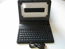 Leather Case Bluetooth Keyboard FOR Samsung p3100 P1000 P1010 P6200 P6210 P3108