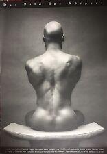 Mapplethorpe Robert Ken Moody Das Bild des Körpers 1983 Plakat Ausstellung