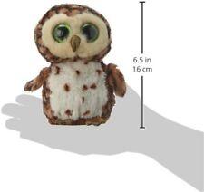 TY BEANIES SAMMY THE OWL 15cm GLITTER EYES