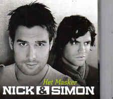 Nick&Simon-Het Masker cd single incl video clip