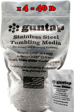 """40 Pounds Stainless Steel Tumbling Media Pins 40lb .047"""" x .255"""" Made in USA"""