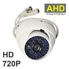 2000TVL HD 1.0MP 720P 48LED IR AHD DOME CCTV Camera Waterproof Security WHITE