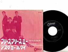 BEATLES 7'' PS Please Please Me JAPAN OR-1024 VERY RARE EARLY Japanese cover 45