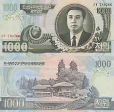 Korea 1000 Won Crisp UNC Banknote