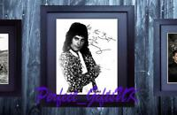 Freddie Mercury Queen SIGNED AUTOGRAPH FRAMED 10x8 REPRO PHOTO PRINT