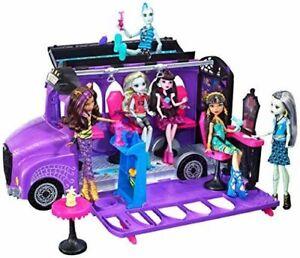 Mattel Monster High FCV63 Deluxe Bus e Mobile Salon Toy Playset Spielspaß B-WARE