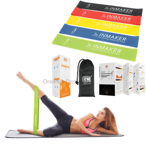 Resistance Bands Exercise Sports Loop Fitness Home Gym   Workout Yoga Latex UK