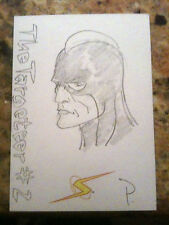 ALEX ROSS PROJECT SUPERPOWERS SKETCH CARD LOOK!!