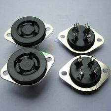 5pc New 4Pin Bakelite Vacuum Tube Sockets for 2A3 300B 45 50 U4A audio amps part