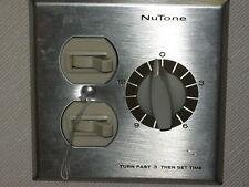 Nutone 15 min Fan Heater Switch w/2 ON/OFF cont VS-69S
