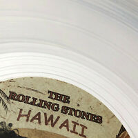 THE ROLLING STONES – 1966 - HAWAII - LIMITED EDITION CLEAR VINYL LP ALBUM