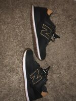 NEW BALANCE 574 LEATHER MEN'S WALKING SHOES SIZE 9