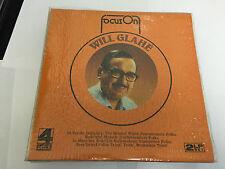 WILL GLAHE FOCUS ON VINYL 2 LP MINT/EX