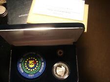 1997-P Unc.Law Enforcement Officers Insignia Set Commem. Silver, as pictured.