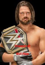 AJ STYLES WWE WCW WWF DIVAS Poster Print 24x36 WALL Photo K