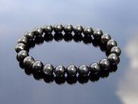 Hypersthene Natural Gemstone Bracelet 6-9'' Elasticated Healing Stone Chakra