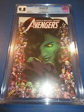 Avengers #23 She-Hulk Variant  CGC 9.8 NM/M Gorgeous Gem