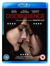 Disobedience Bluray (UK IMPORT) BLU-RAY NEW