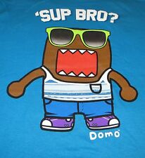 DOMO KUN SUP BRO? T-SHIRT L LARGE LICENSED NHK TEE