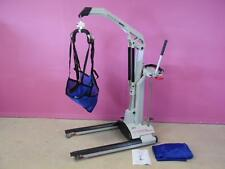 WY'East Totalift MPL Hydraulic Foot Pump Mobile Patient Transfer Lift & 2 Slings