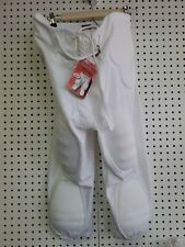 White Alleson 7 Pad Football Pants Size Adult Medium