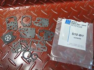 Genuine Walbro D10-WY Carburetor Diaphram Gasket Kit suits Walbro inc HONDA etc