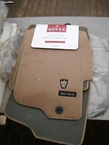 genuine rover 400 / 45 beige carpet mats eah103280smj