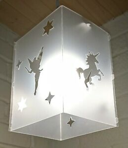lampshade light shade fairy unicorn star stars