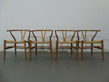2 x Stuhl Wishbone chair CH 24 Hans J. Wegner Y-chair Carl Hansen & Son