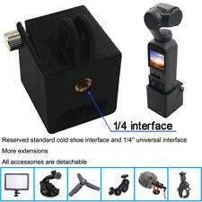 Tripod Holder Head Mount 1/4 Screw Adapter Camera Bracket for DJI Osmo Pocket s6