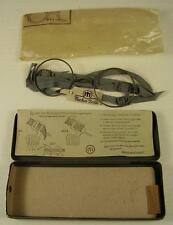 Servicio originales gafas/máscaras gafas en estuche sin usar 2 WK