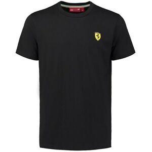 Ferrari Scuderia Classic Crew Neck T-Shirt (Black)