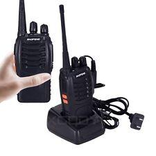1 PCS Handheld Walkie Talkies BF-888S UHF 400-470MHz VOX/DCS/CTCSS Two Way Radio