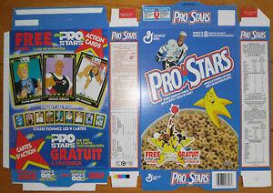 1992 (Jan) Pro-Stars Wayne Gretzky Cartoon Cards Factory Flat Box, Nr-Mint