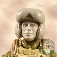 "MH373 Custom Cast male head use with 3.75"" GI Joe Star Wars Marvel Acid Rain"
