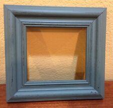 "East Side Mouldings Blue Wooden Frame for Twisted Threads ""Santa's Beard"" Design"